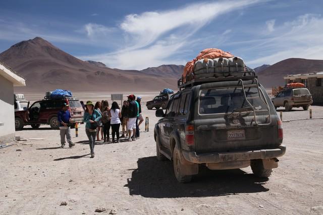 Chile, bolivia, border, sınır