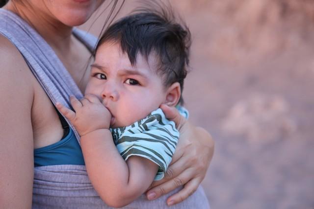 Bolivyalı bir çocuk