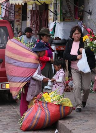 mercado, cusco, inka, peru, lama