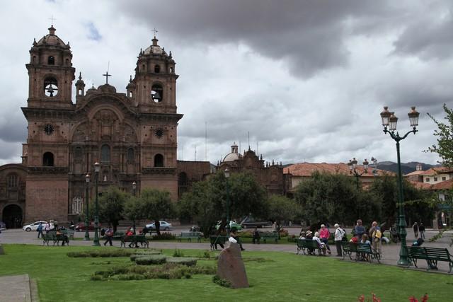 plaza de armas, centro, peru, cusco, macchu picchu, şehir