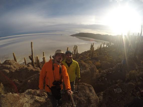 Kaktüs Adası, Uyuni Tuz Gölü