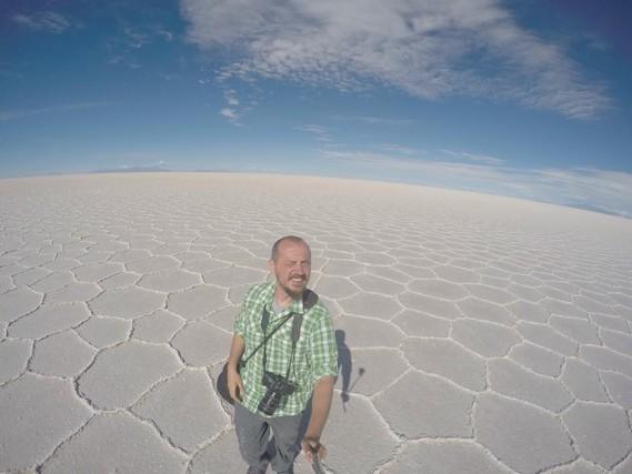 Uyuni Tuz Gölü, Bolivya seyahati
