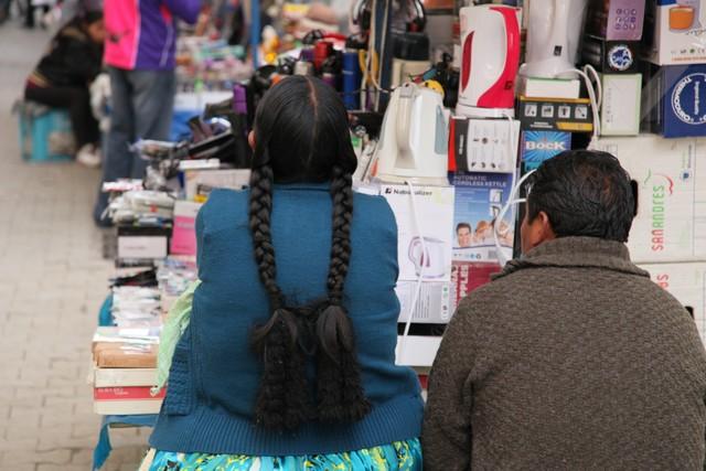 Bolivyalı pazarcılar