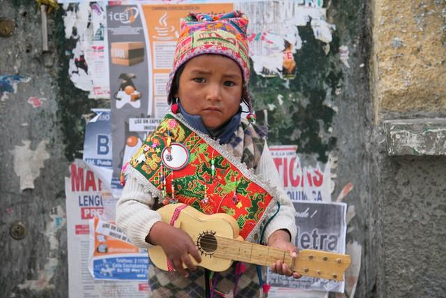 Geleceğin Bolivyalı starı :)