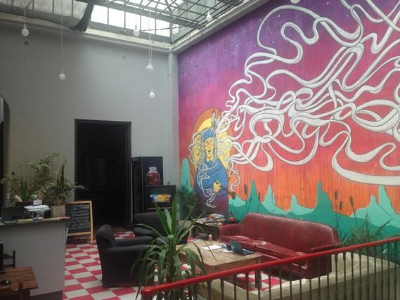 hostel, montevideo, uruguay turu