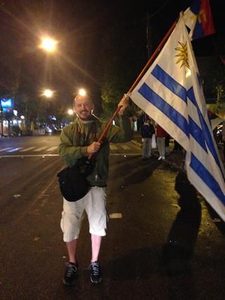 fatih koparan, uruguay bayrağı, uruguay flag